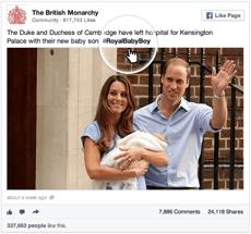 Royal Baby Hashtag