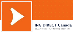 ING DIRECT Canada Facebook