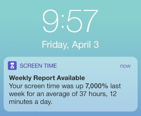 KSC Screen Time April 3