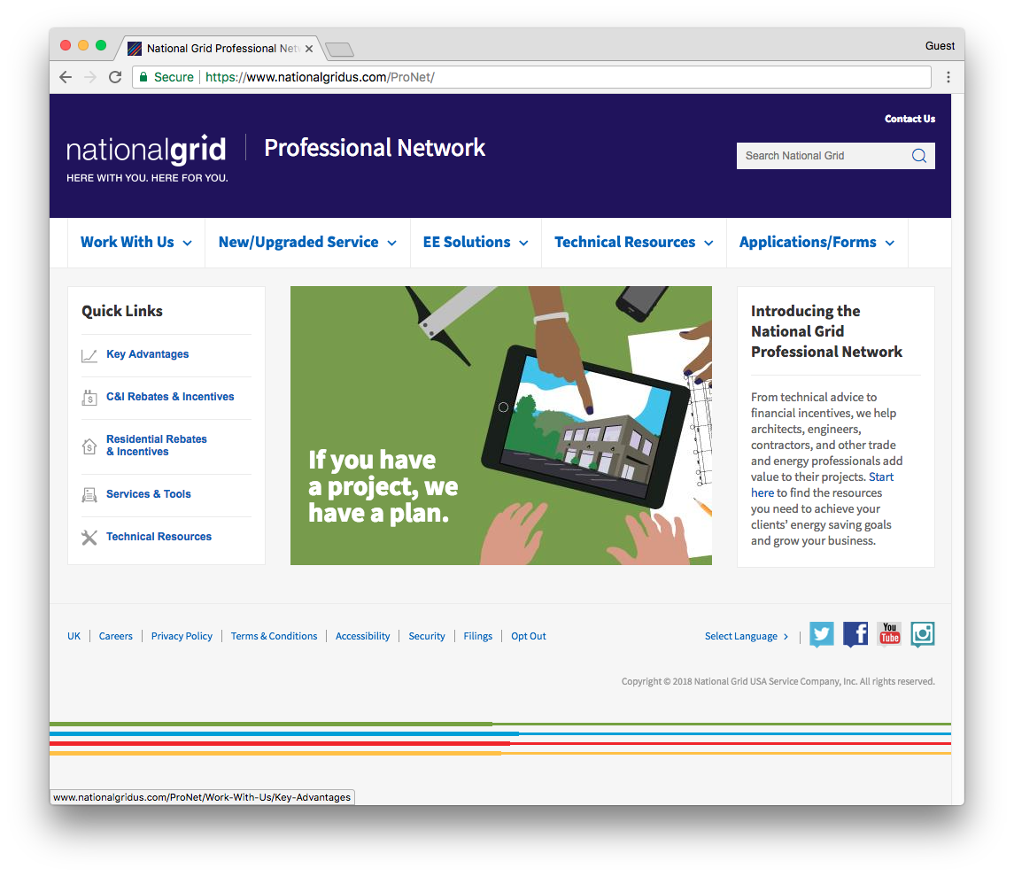 NG_Professional_Network_Web_Page